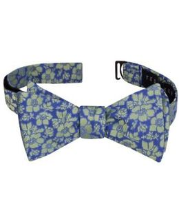 Picadilly Floral Silk Bow Tie