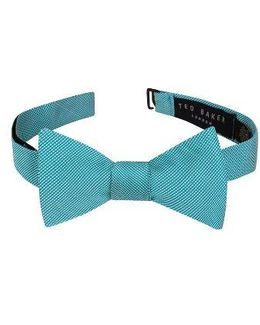 Mogador Stripe Silk & Cotton Bow Tie