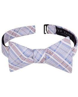 Subtle Check Bow Tie