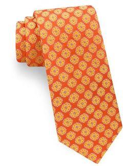Daisy Silk Tie