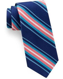 Vero Beach Stripe Silk Tie
