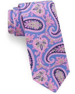 Hoxton Paisley Silk Tie