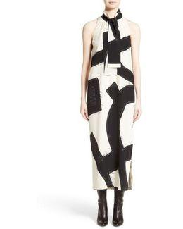 Agiato Print Silk Dress