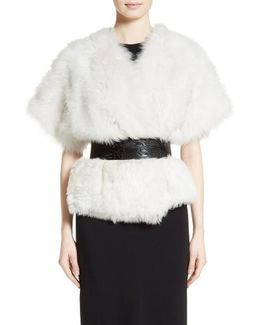 Fiorigi Genuine Lamb Fur Bolero