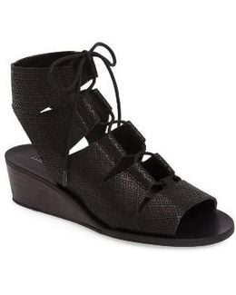 Gizi Wedge Sandal