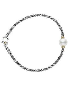 Luna Pearl Single Station Caviar Bracelet