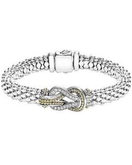Caviar Newport Diamond Station Bracelet