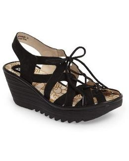 Yapi Wedge Sandal