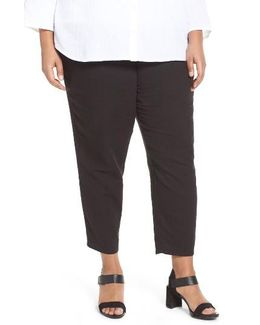 Organic Cotton Gauze Crop Pants