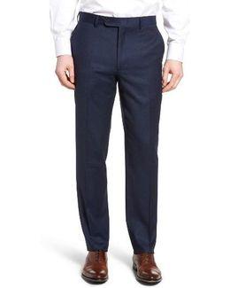 Flannel Wool Trousers