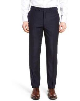 Pin Dot Wool Trousers