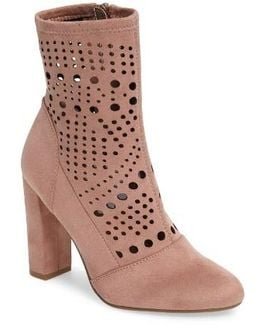 Ennie Perforated Bootie