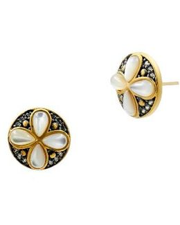 Fleur Bloom Petal Stud Earrings
