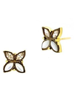 Fleur Bloom Stud Earrings