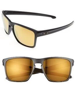 Silver Xl 57mm Sunglasses