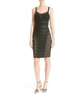 Stretch Lace Body-con Dress