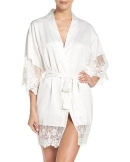Farrah Charmeuse Robe