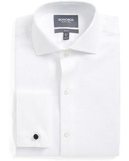 Capstone Pique Slim Fit Tuxedo Shirt
