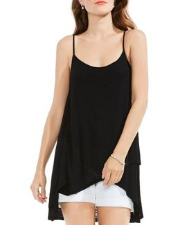 Faux Wrap High/low Camisole