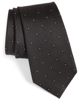 Oxford Geometric Silk Tie
