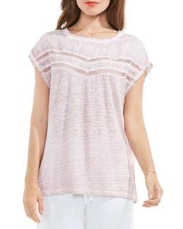 Crochet Lace Trim Top