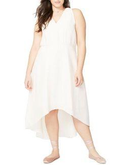 Flutter Drape Dress