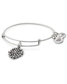 Compass Adjustable Wire Bangle