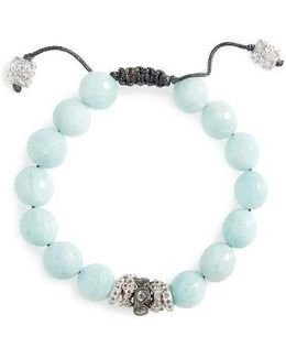 New World Diamond & Amazonite Bracelet