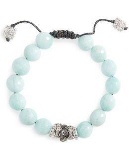 New World Diamond & Amazonite Bracelet
