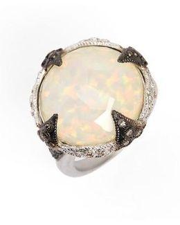 New World Opal & Diamond Ring