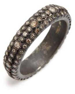 Old World Eternity Diamond Stack Ring