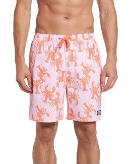 Lobster Toss Chappy Swim Trunks