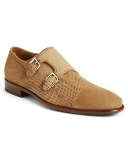 Wesley Double Monk Strap Shoe