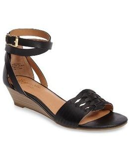 Sincere Wraparound Wedge Sandal