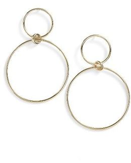 Geo Circle Drop Earrings (nordstrom Exclusive)