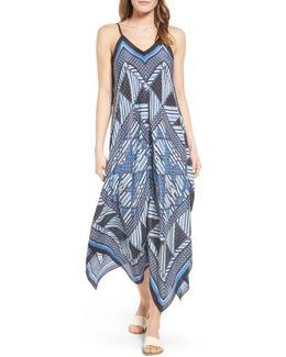 Calypso Silk Blend Maxi Dress
