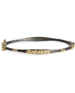 Old World Diamond Bangle