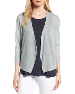 All Day Linen Blend Cardigan