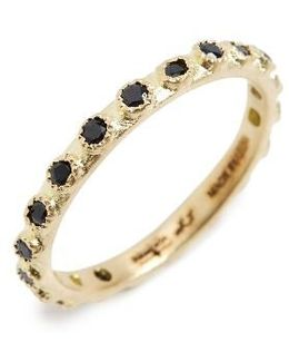 Old World Sapphire Stack Ring
