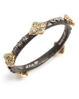 Old World Crivelli Diamond Stack Ring
