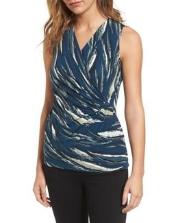 Tiger Lily Wrap Top