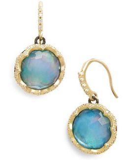 Old World Opal Drop Earrings