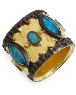 Old World Cigar Band Ring