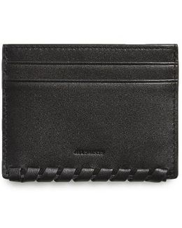 Kita Pebbled Leather Card Case