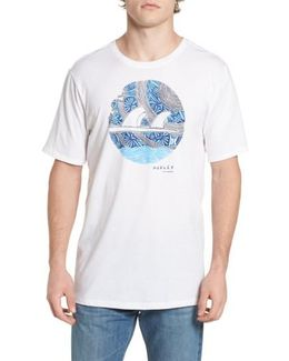 Surfboard Logo Graphic T-shirt