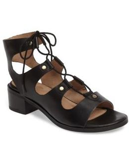 Love Affair Lace-up Sandal