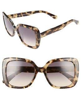 Krystalyn 53mm Sunglasses - Havana