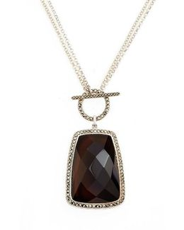 Doublet Pendant Necklace