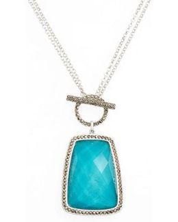 Doublet Pendant Necklace