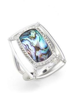 Abalone Dome Ring